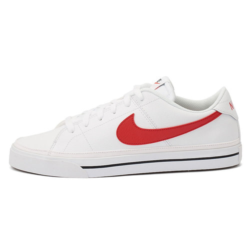 Nike Court Legacy - Sneakers - WHITE/UNIVERSITY RED