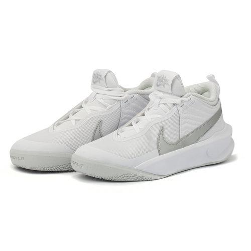Nike Team Hustle D 10 (Gs) - Αθλητικά - WHITE/METALLIC SILVER