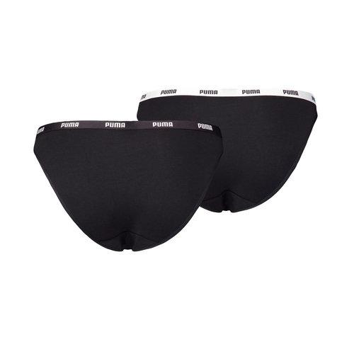 Puma Bikini 2P PA - Εσώρουχα - BLACK