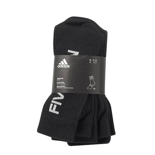 adidas 3S Performance Crew Half - Κάλτσες - BLACK