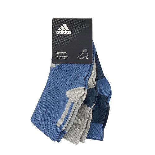adidas Ankle 3PP - Κάλτσες - BLUE/GREY
