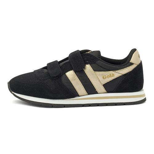 Daytona Mirror Vecro - Sneakers - BLACK/GOLD