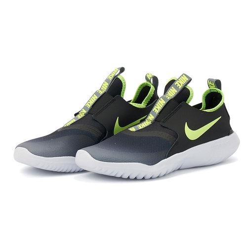 Nike Flex Runner - Αθλητικά - SMOKE GREY/VOLT