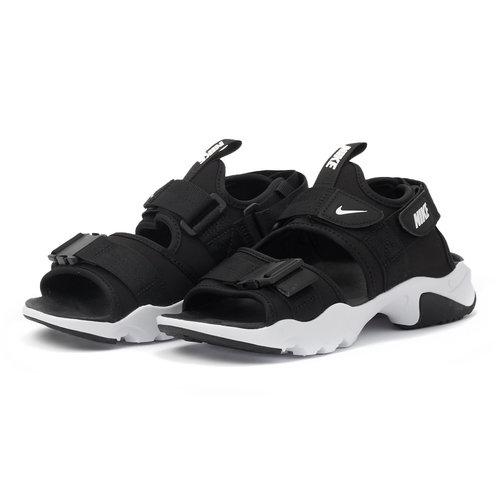 Nike Canyon - Πέδιλα - BLACK/WHITE