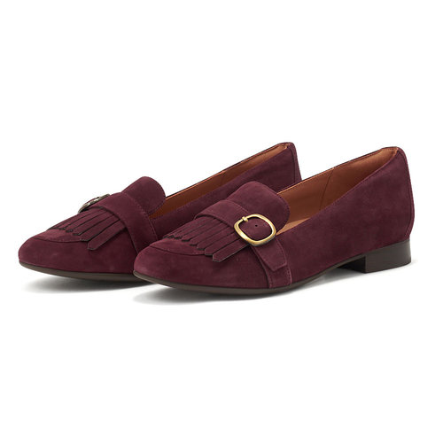 Clarks - Brogues & Loafers - BURGUNDY