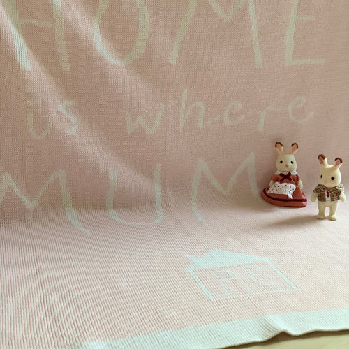 Philippe Armine Home - Κουβέρτες - WHITE/PINK