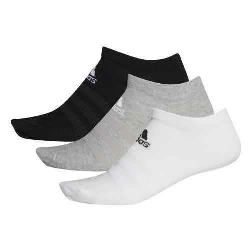 adidas Light Low 3Pp - Κάλτσες - MEDIUM GREY HEATHER/WHITE