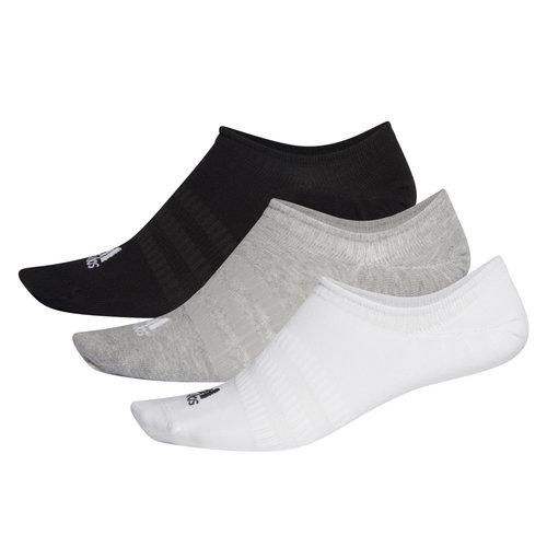 adidas Light Nosh 3Pp - Κάλτσες - MEDIUM GREY HEATHER/WHITE