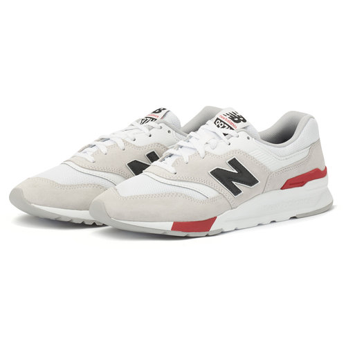 New Balance 997H - Sneakers - WHITE/RED