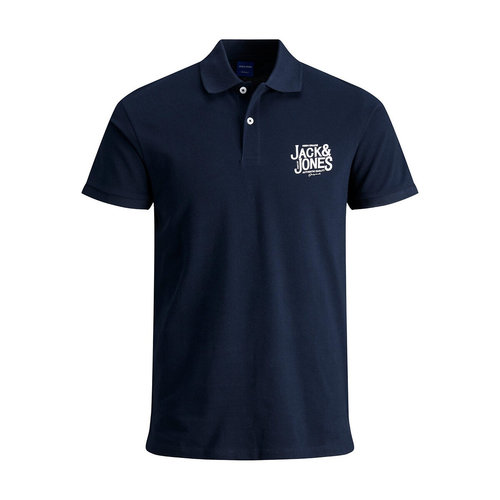 Slim πόλο από πικέ ύφασμα - Μπλούζες & Πουκάμισα - ΣΚΟΥΡΟ ΜΠΛΕ