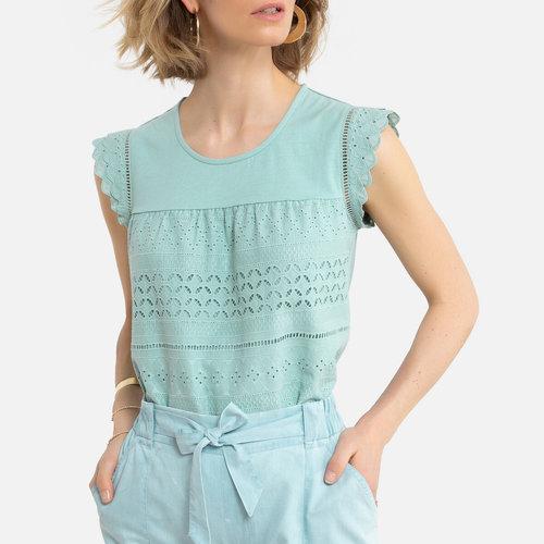 Κοντομάνικη μπλούζα - Μπλούζες & Πουκάμισα - ΣΜΑΡΑΓΔΙ ΠΡΑΣΙΝΟ