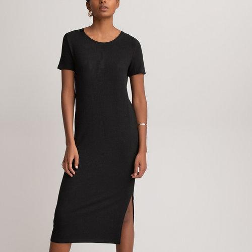 Κοντομάνικο φόρεμα - Φορέματα - ΜΑΥΡΟ