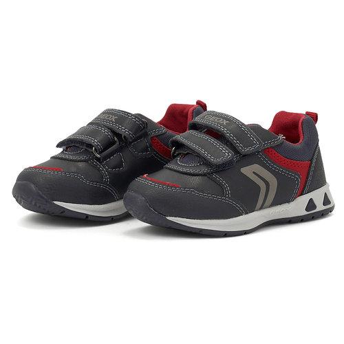 Geox B Pavlis B. A - Sneakers - NAVY/RED