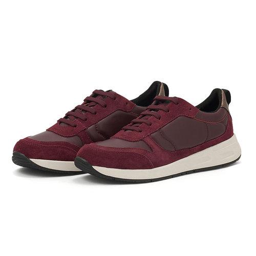 Geox D Bulmya A - Sneakers - BORDEAUX