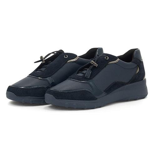 Geox D Alleniee C - Sneakers - NAVY