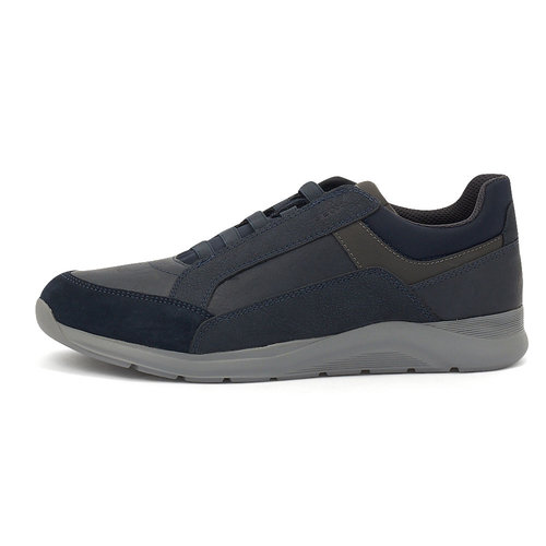 Geox U Damiano D - Sneakers - NAVY