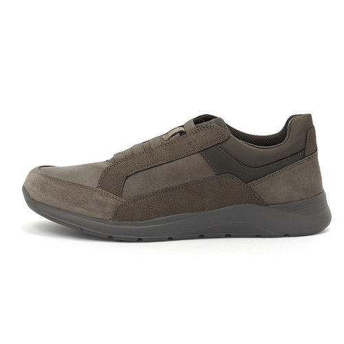 Geox U Damiano D - Sneakers - TAUPE