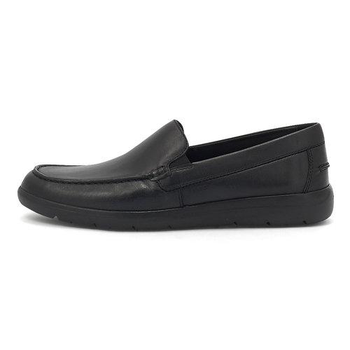 Geox U Leitan E - Brogues & Loafers - BLACK