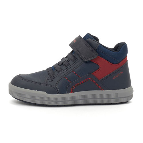 Geox J Arzach B. A - Sneakers - NAVY/RED