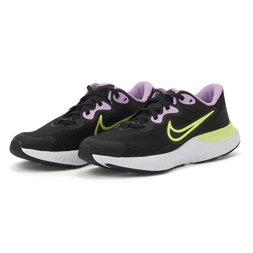Nike Renew Run 2 - Αθλητικά - BLACK/LT LEMON TWIST