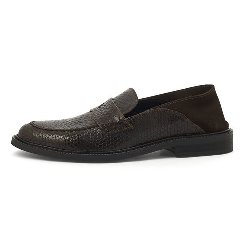 Scotch & Soda Wylder - Brogues & Loafers - BROWN SNAKE OPT.