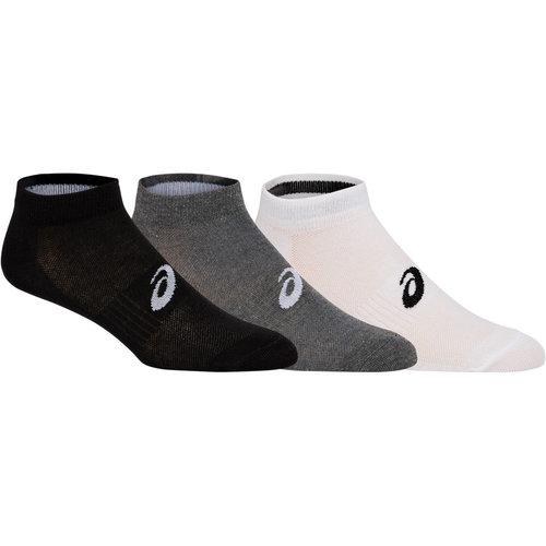 Asics 3PPK PED - Κάλτσες - ΛΕΥΚΟ/ΓΚΡΙ