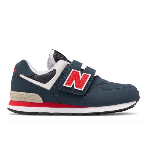 New Balance 574 - Αθλητικά - NAVY/RED