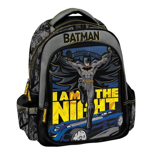 Graffiti Batman - Σχολικές Τσάντες - ΓΚΡΙ