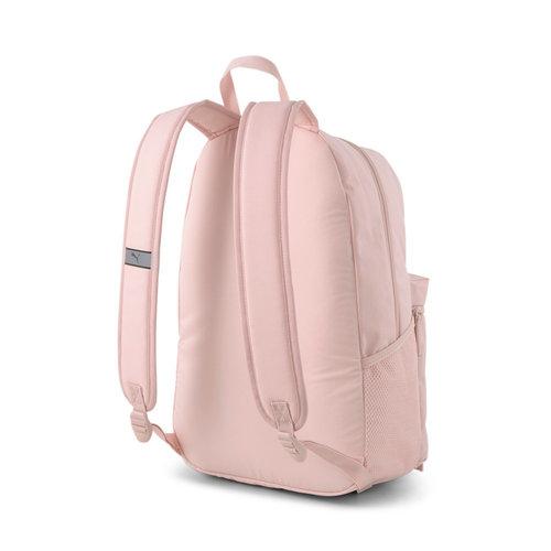 Puma Patch Backpack - Σχολικές Τσάντες - LEAD/DK BEIGE