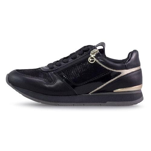 Tamaris - Sneakers - BLACK/GOLD