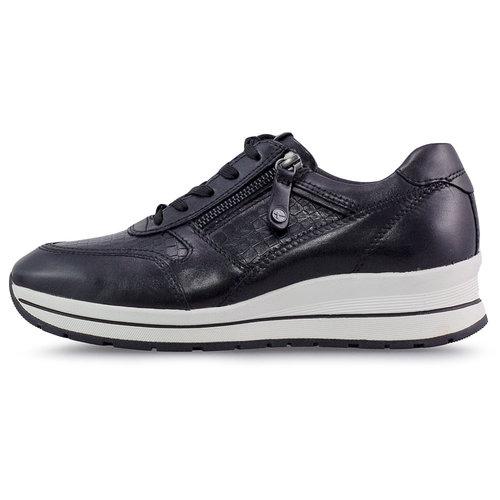 Tamaris - Sneakers - BLACK/CROCO
