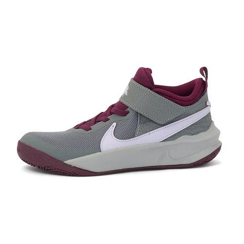 Nike Team Hustle D 10 - Αθλητικά - SMOKE GREY/PURE VIOLET