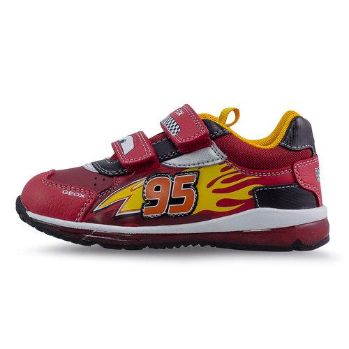 Geox B Todo B. B - Sneakers - RED/BLACK