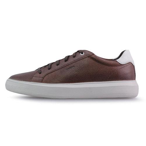 Geox U Deiven B - Sneakers - COGNAC/WHITE