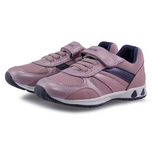 Geox B Pavlis G. A - Sneakers - DK ROSE/NAVY