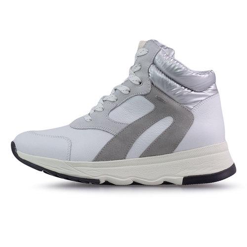 Geox D Falena B Abx B - Sneakers - WHITE/SILVER