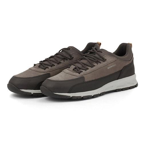 Geox U Delray B Wpf D - Sneakers - DK COFFEE/DOVE GREY