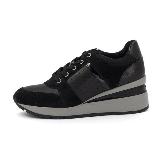 Geox D Zosma C - Sneakers - BLACK
