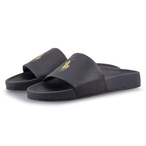 Polo Ralph Lauren - Σαγιονάρες - BLACK/GOLD