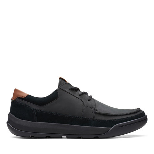 Clarks Ashcombe Craft - Brogues & Loafers - BLACK