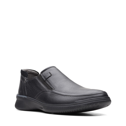 Clarks Donaway Step - Brogues & Loafers - BLACK