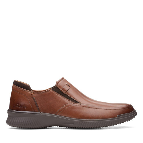 Clarks Donaway Step - Brogues & Loafers - DARK TAN
