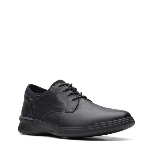 Clarks Donaway Plain - Brogues & Loafers - BLACK