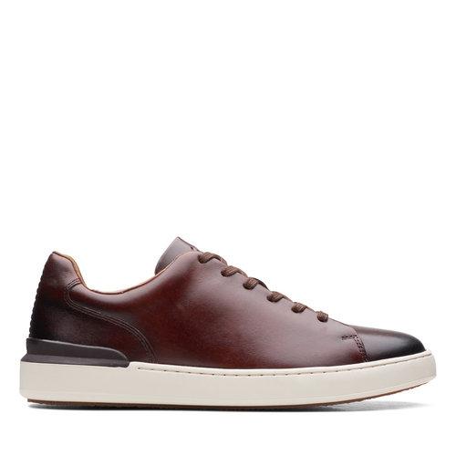 Clarks CourtLite Lace - Sneakers - DARK TAN