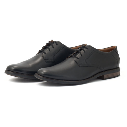 Clarks Becken Lace - Brogues & Loafers - BLACK