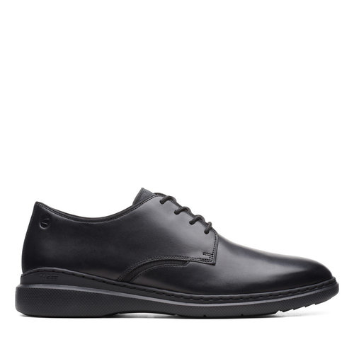 Clarks Dennet Low - Brogues & Loafers - BLACK