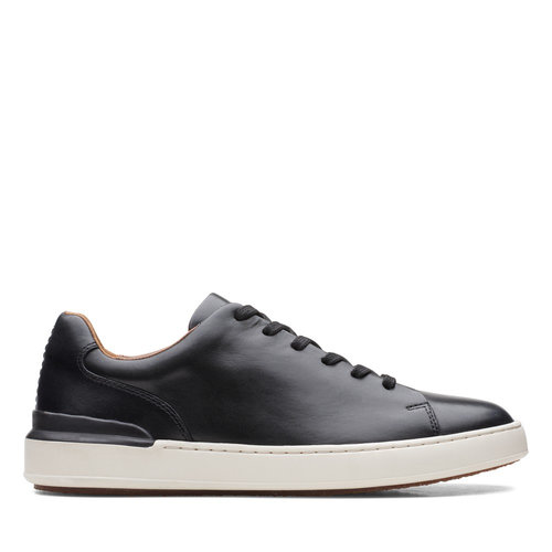 Clarks CourtLite Lace - Sneakers - BLACK