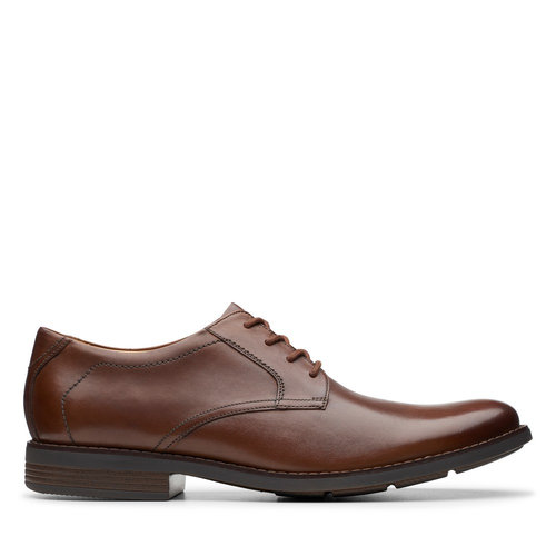 Clarks Becken Lace - Brogues & Loafers - DARK TAN