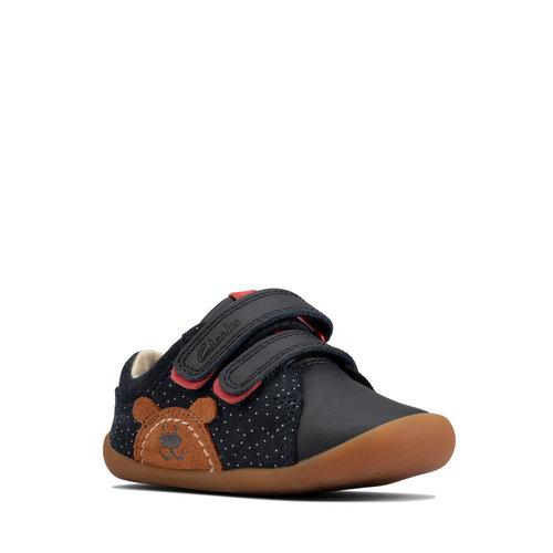 Clarks Roamer Bear T - Sneakers - NAVY