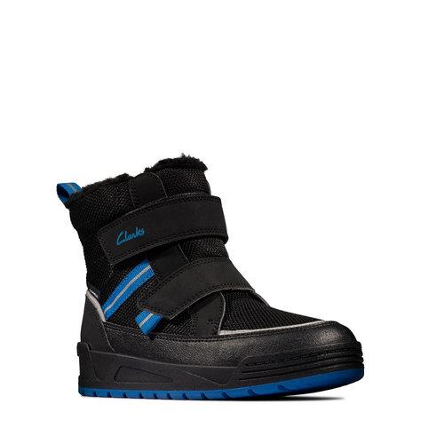 Clarks Jumper Jump K - Μπότες - BLACK